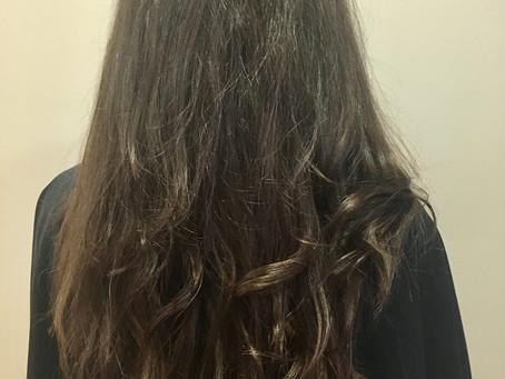 Fan de cheveux longs
