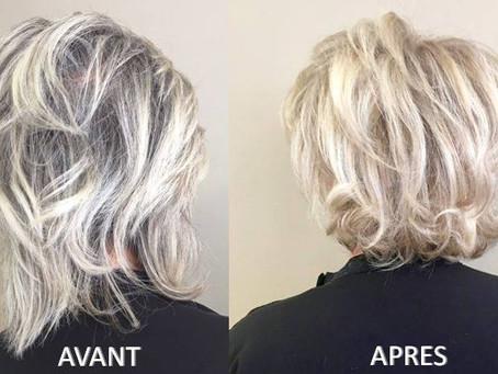 Superposition de blonds