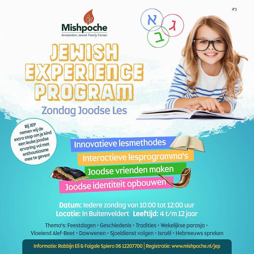 Jewish Experience Program - Zondag Joodse Les