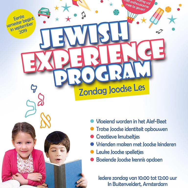 Jewish Experience Program - Sunday Hebrew School