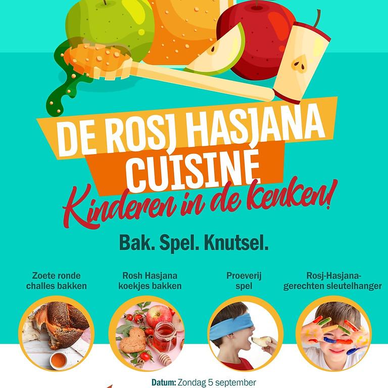 Kinderen in de keuken - De Rosj Hasjana Cuisine!
