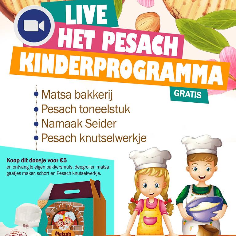Het pesach kinderprogramma