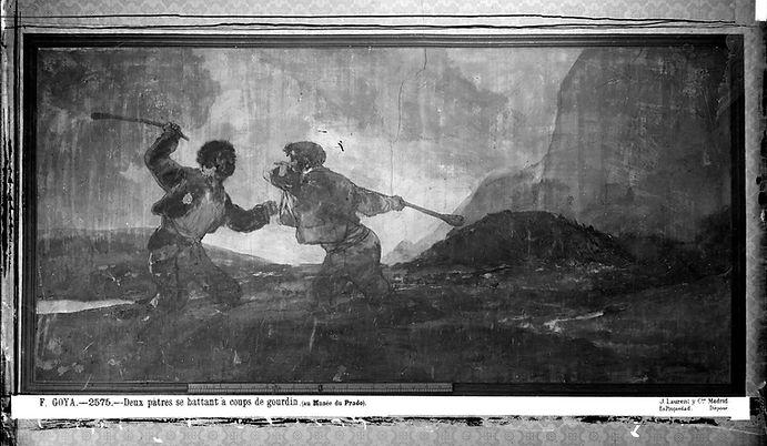 Duelo_a_garrotazos_de_Goya_fotografíado_