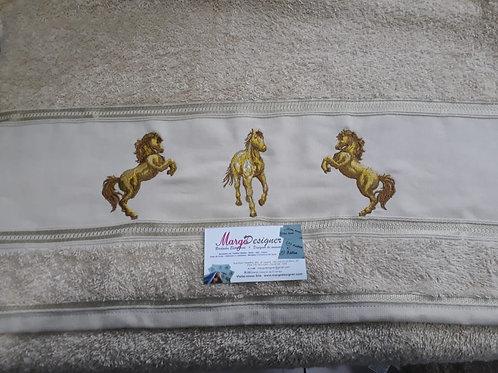 Toalha de banho Cavalos