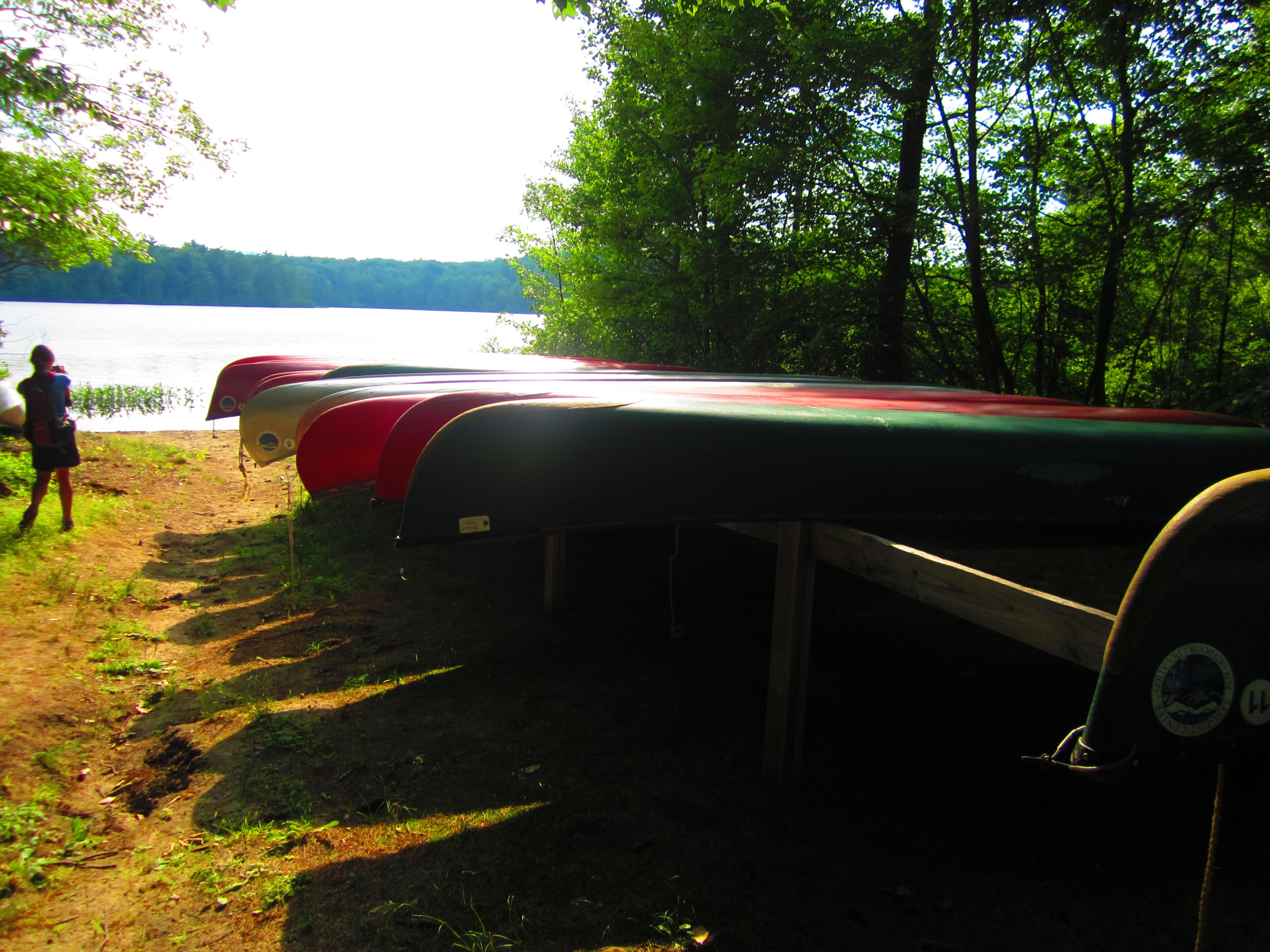 Canoe Launch Area