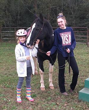 2020 Birthday lesson Lilah, Boone, Becca
