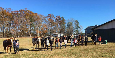 2020 Christmas Camp group behind the barn.jpg