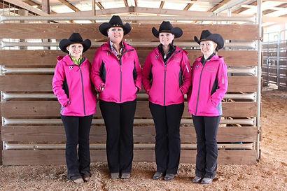 2016 April Kel-Mac Pink show team jacket
