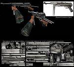 low poly gun texture artist