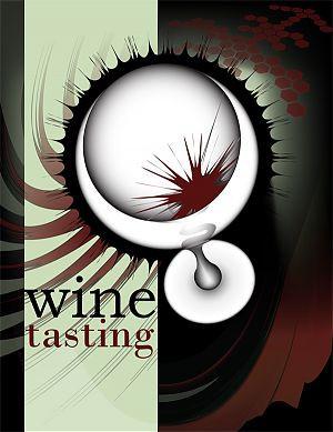 wine label design graphic design