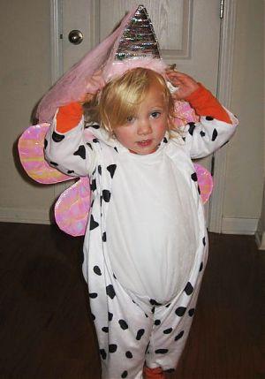 fairy cow costume