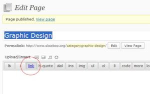 Category as Page Example
