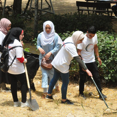 Beautification of Nablus' Central Park Activity