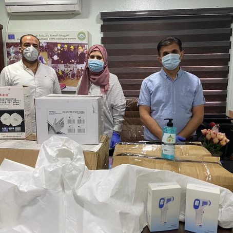 Providing PPE to chronically-ill Palestinians during COVID-19