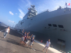French defense boat in Nha Trang 1