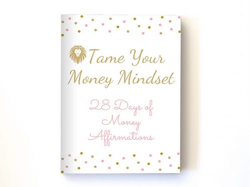 28 Days of Printable A4 Money Affirmations