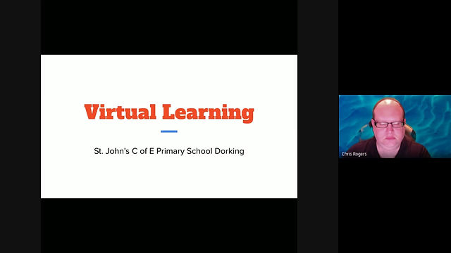 St John's C of E Primary School Virtual Learning Guide