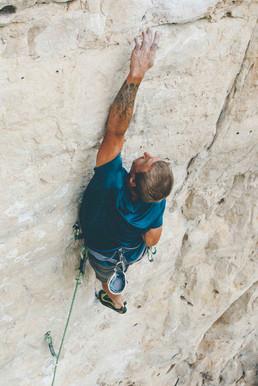 Tyler Kaschke | Denver DP | Rock Climbing