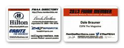 FWAA Membership Card