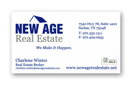 New Age Business Card