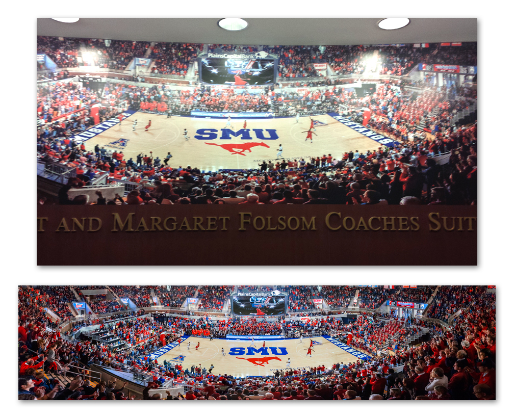 SMU BB Wall Mural