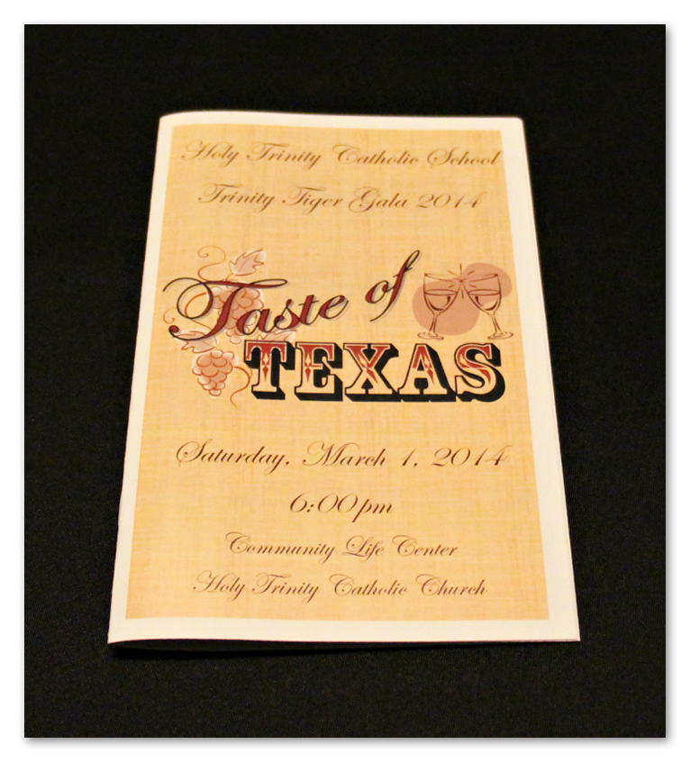 Taste of Texas Program