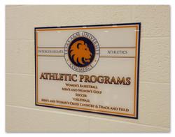 TAMUC Athletic Programs Sign