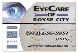 EyeCare of Royse City Banner