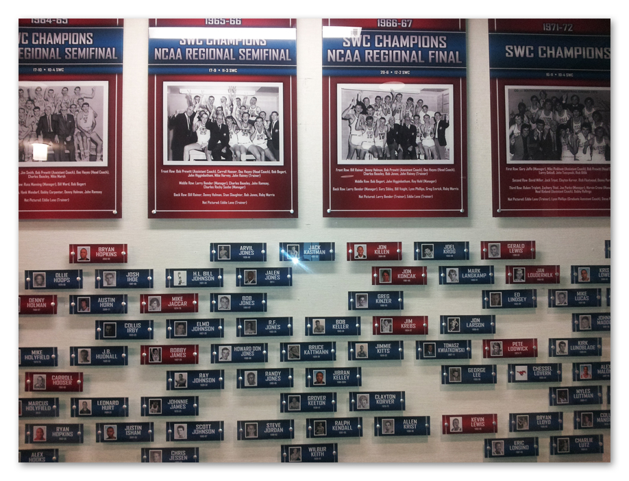 SMU Men's Basketball Offices