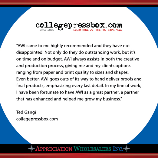 CollegePressBox.com Testimonial