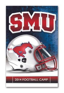 SMU Folded Football Schedule Mailer