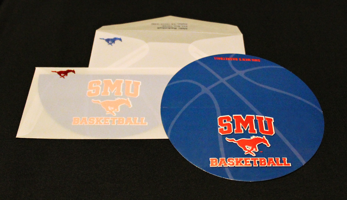 SMU Foil Notecard & Envelope