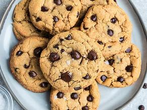 Cookie vegano de cacau
