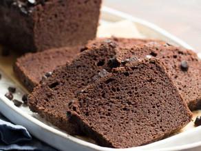 Bolo de chocolate nutritivo