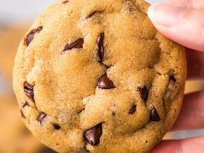 Cookie saudável com chocolate (vegano)