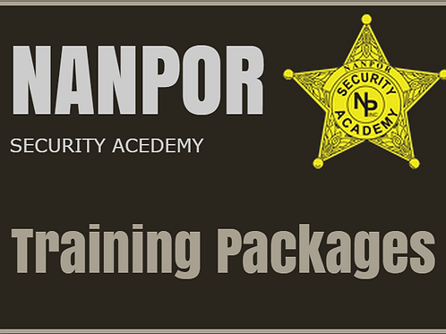 Security Training Package # 2 ($100.00 Savings)