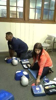 CPR with AED Training Class