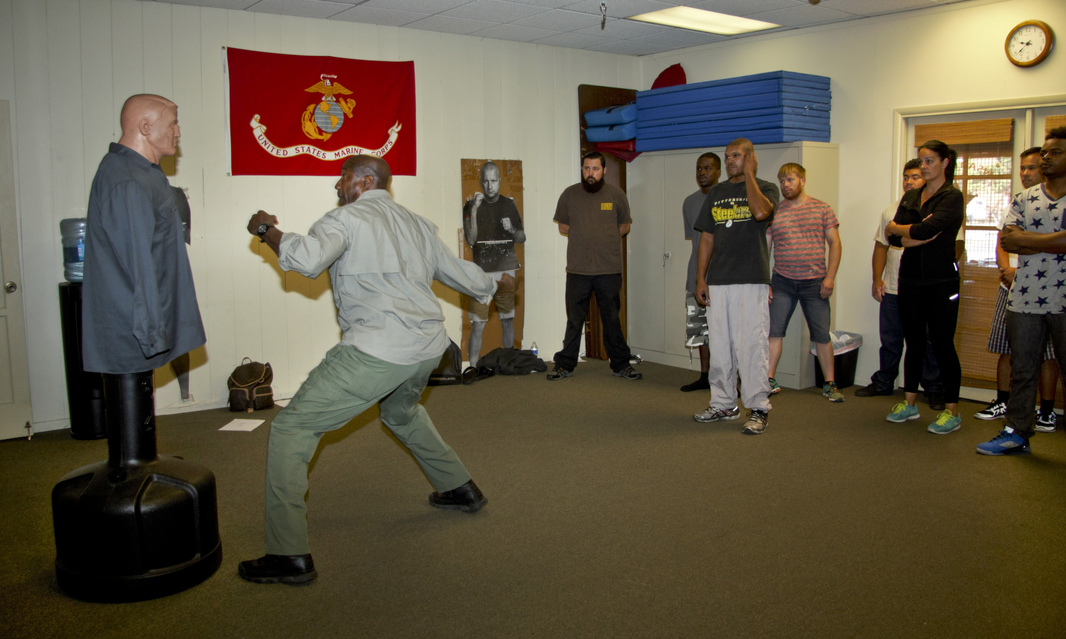Defensive Tactics Training Class