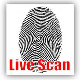 Live-Scan Fee For Guard Card Course