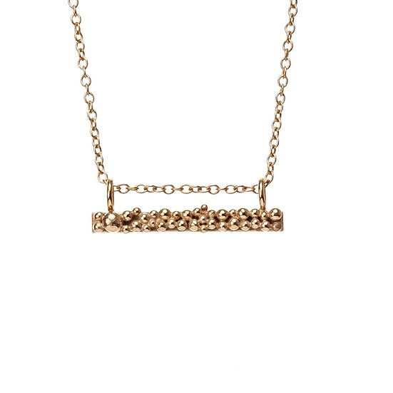 Bliss Bar Necklace - Gold