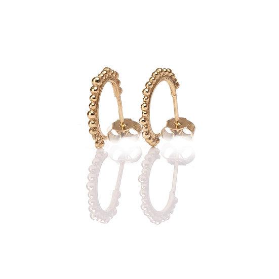 Bliss Mini Hoops - Gold