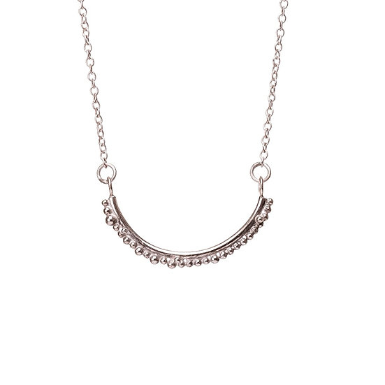 Bliss Semi Circle Necklace