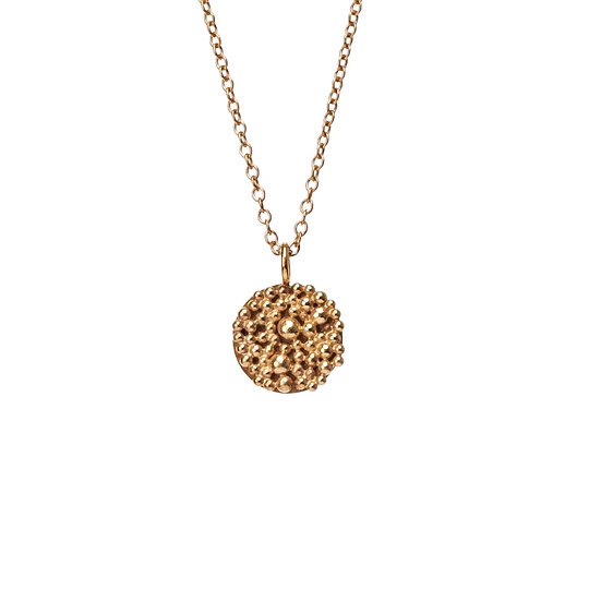 Bliss Disc Necklace - Gold