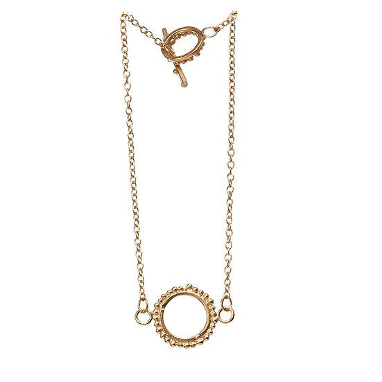 Bliss Circle Bracelet - Gold