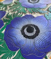 Anemone block close up