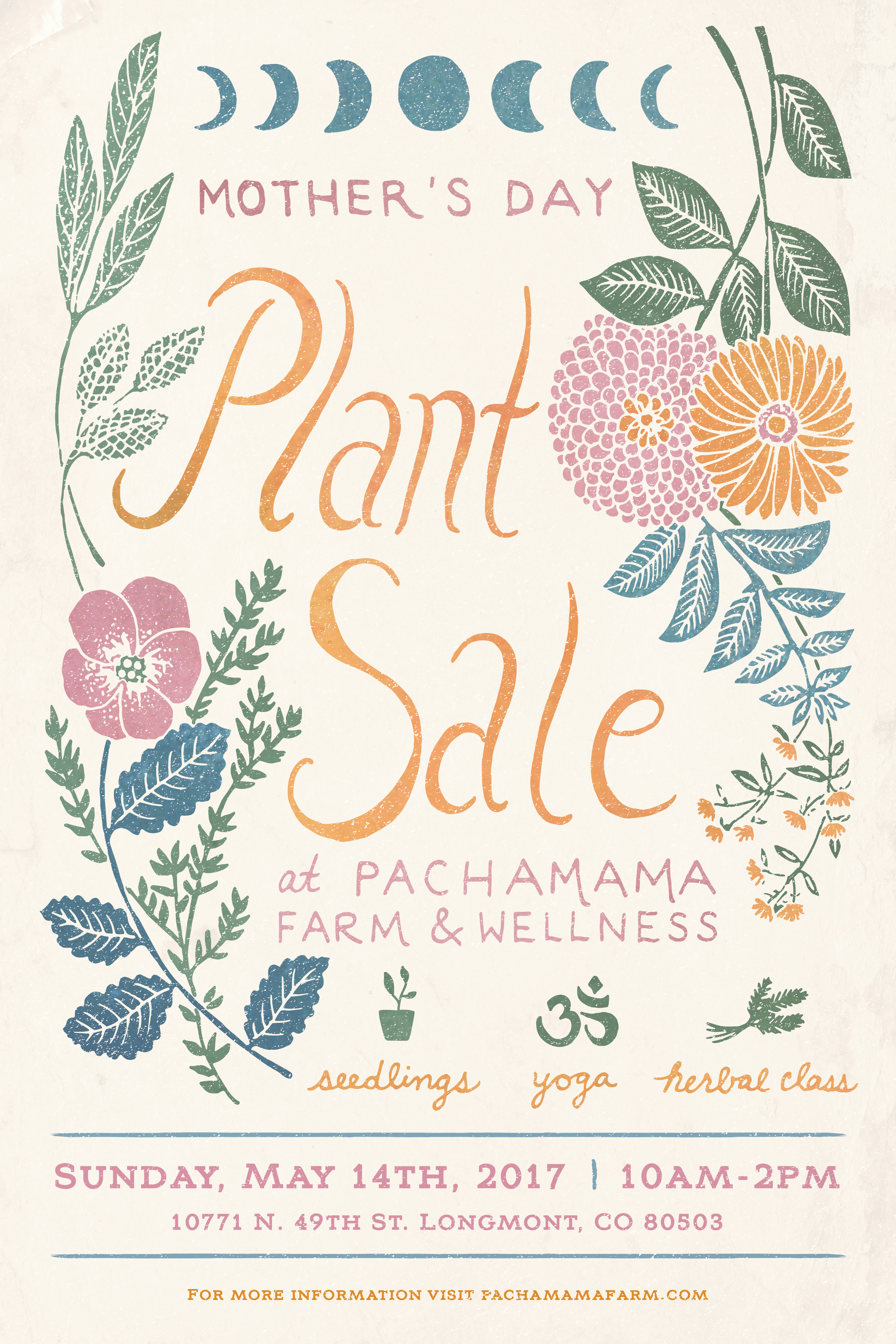 Pachamama Plant Sale Poster 1