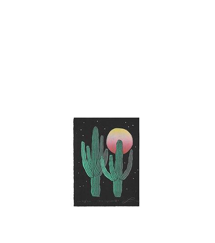 Dos Saguaros III w/ Stars