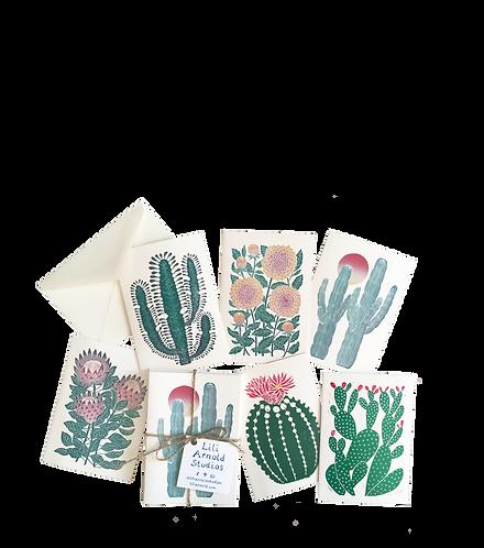 Set of 6 Blank Notecards w/ Envelopes (version 3)