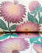 Dahlia Pinnata print reveal