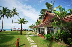 Beach Front Villa out 2